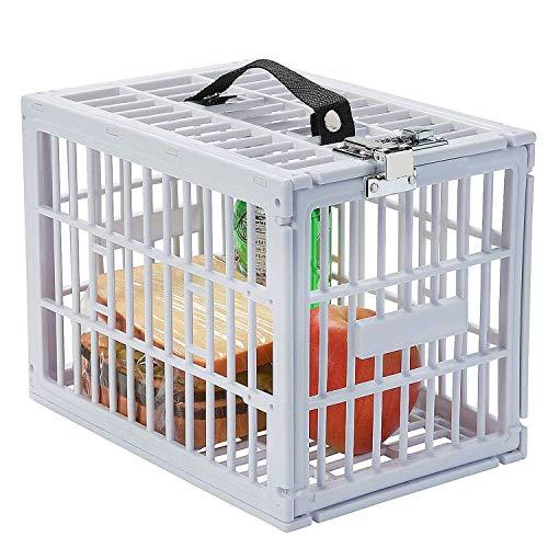 (Escest Super Convenient Fridge Locker, Safe Lock Box with Metal Lock for Refrigerator Kids Safety, Size: 7 1/2