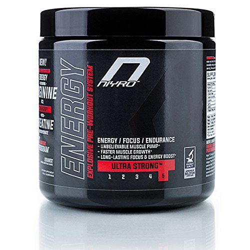 Niyro – Energy Pre-Workout - Energy, Focus & Endurance - Ultra Strong Supplement (300 g