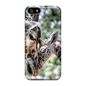 Case Cover Giraffe With Calf/ Fashionable Case For Iphone 6 4.7