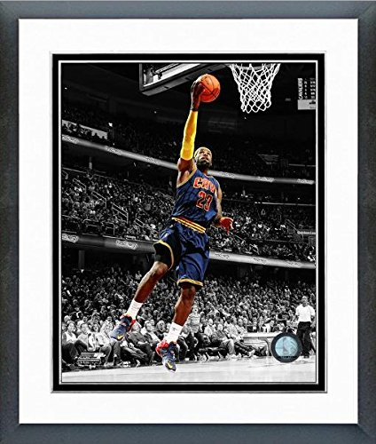 LeBron James Cleveland Cavaliers 2015 NBA Spotlight Photo (Size: 12.5