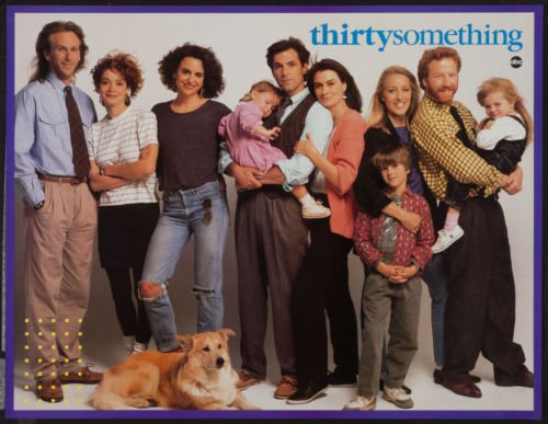 THIRTYSOMETHING 25.5x33 Original TV Promo Poster Rare 1980'S ABC Peter Horton