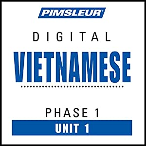 Vietnamese Phase 1, Unit 01 Audiobook