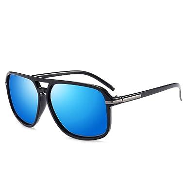 Memoryee Retro Wayfarer Polarisierte Fahren Sonnenbrille UV400 Schutz Optimal Entwurf Herren und Frauen Blau 4cAeCC9lCC