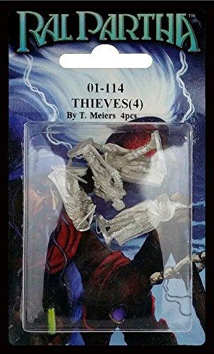 RAL PARTHA 01-114 Thieves  by BATTLETECH