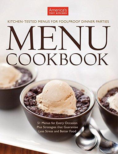itchen Menu Cookbook by America's Test Kitchen (COR); Tremblay, Carl (PHT); Keller + Keller (PHT); Van Ackere, Daniel J. (PHT) (October 1, 2011) Hardcover ()