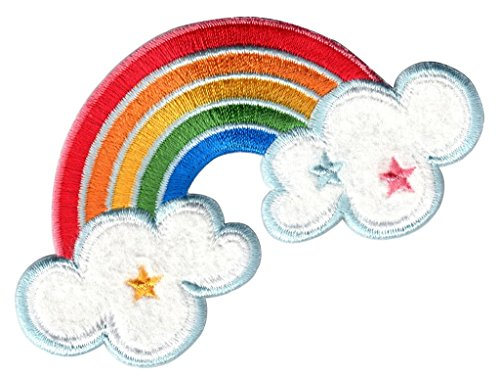 PatchMommy Iron On Patch, Rainbow - Appliques for Kids ()