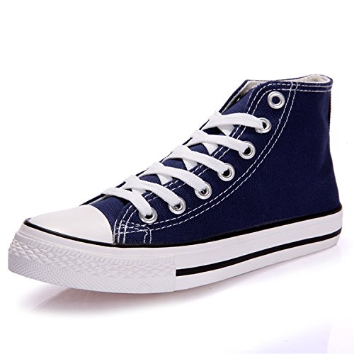 Female Casual Perfues Women 44 Blue Fashion Shoes Size Canvas Sneakers Shoes Summer Big Trainers White 35 Flat wq47Bw
