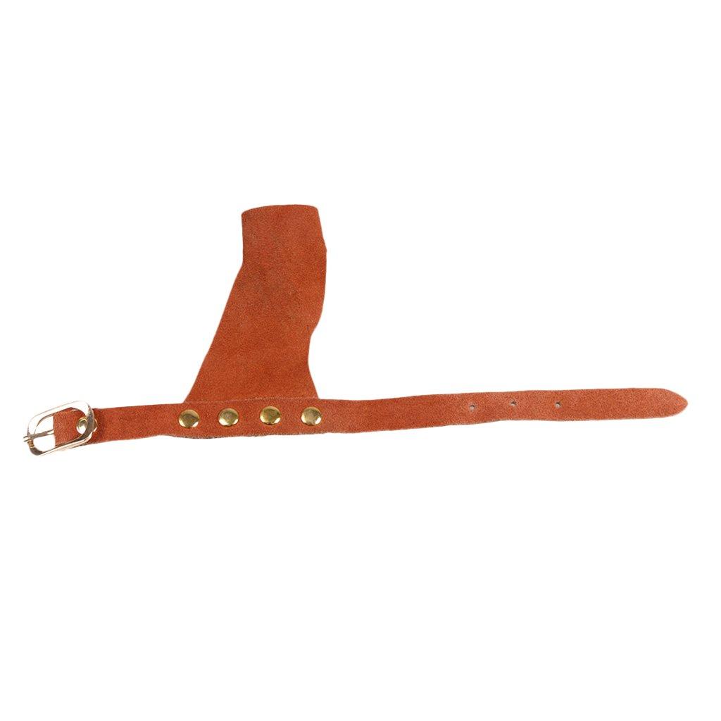Adjustable Wrist Jili Online Traditional Archery Hand Guard Protector Shooting for Left Hand