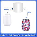7.5x7.5 Inch Sublimation Shrink Wrap Sleeves, 60