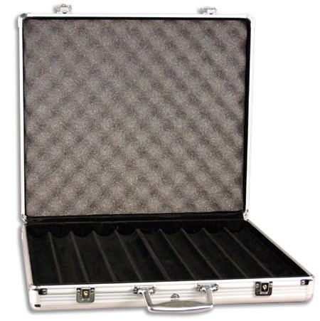 DA VINCI Aluminum 1,000 Chip Case
