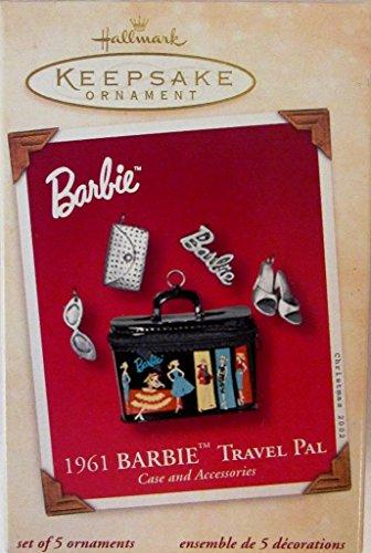 1961 Hallmark Keepsake Ornament Barbie Travel Pal (2001)
