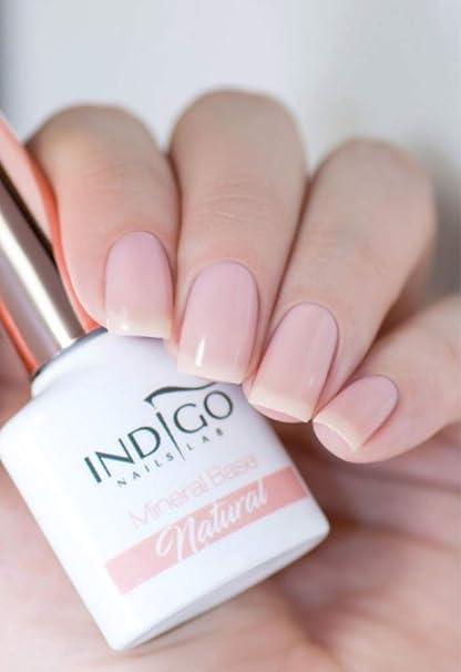 Nuevo Indigo Mineral Base Natural Gel Esmalte Manicura Uñas ...