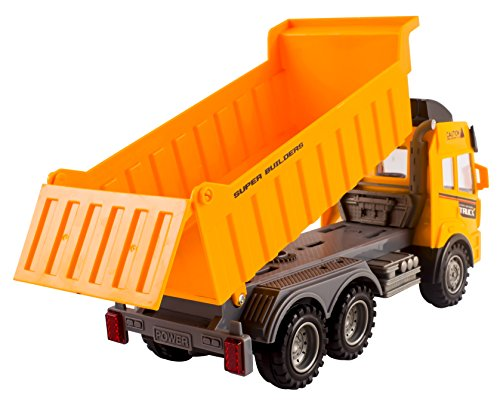 Toy Construction Trucks : Rc dump truck toy construction remote control