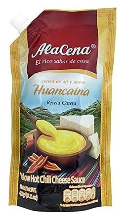 Alacena Crema huancaina Receta casera huancaina Salsa 400 ...