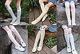#9: Fasker Kids Girl Animal Knee High Socks Cute Girls Cartoon Long Socks Stockings