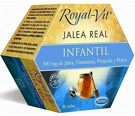 Jalea Real Infantil Royal-Vit 20 ampollas de 300 mg de Dietisa ...