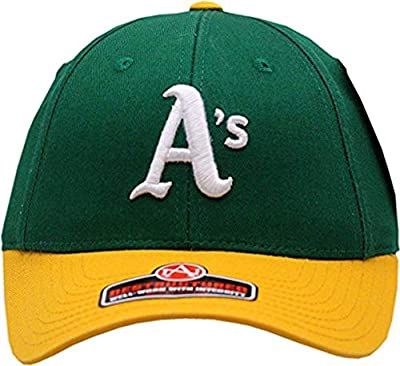 American Needle Oakland Athletics Hat Pastime Replica Destructured Buckle Back