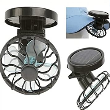 ceiling fan hat. Kisstaker Portable Mini Solar Powered Clip Fan Cooling Hat Cap Energy Saving Travel Summer Ceiling