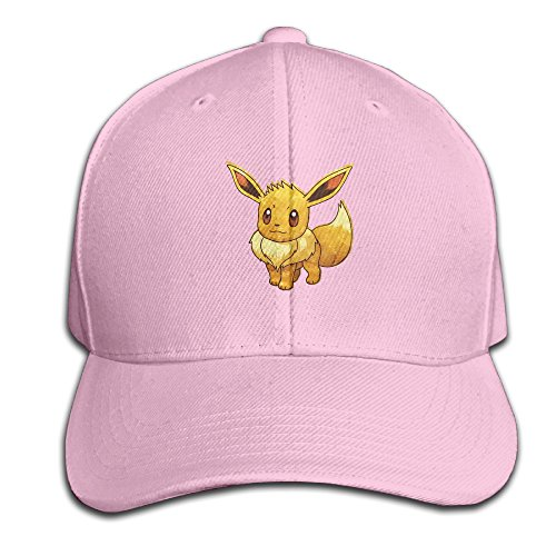 Price comparison product image Eevee Pokemon Mystery Dungeon Red And Blue Rescue Teams Design Pure Color Baseball Cap Cotton Comfortable Stylish