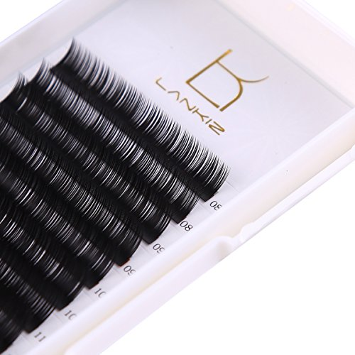 Eyelash Extensions C Curl 0.15mm Mixed Tray Volume Fake Lash Extensions Individual 3d False Eyelashes Extensions Salon Perfect Use by LK LANKIZ