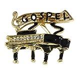 6030036 Gospel Lapel Pin Brooch Music Piano Southern Clef Note Church Choir