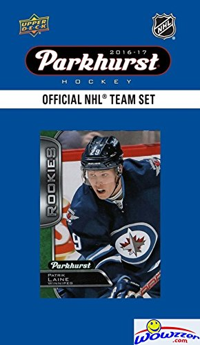 Winnipeg Jets 2016/2017 Upper Deck Parkhurst NHL Hockey EXCLUSIVE Limited Edition Factory Sealed 10 Card Team Set including PATRIK LAINE ROOKIE & All the Top Stars! (Parkhurst Hockey Card)