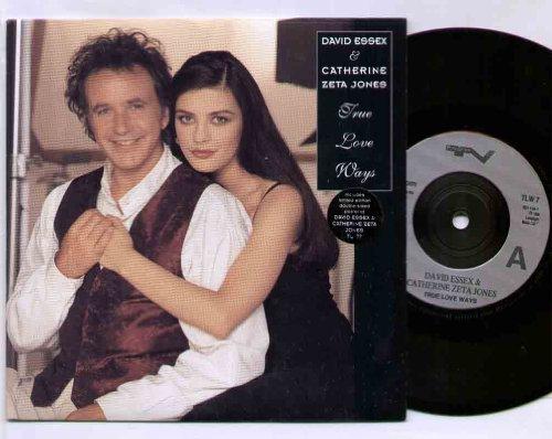 david-essex-catherine-zeta-jones-true-love-ways-7-inch-vinyl-45