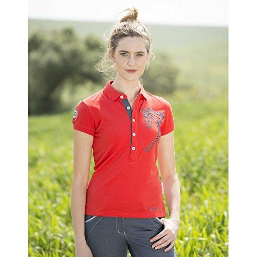 Horseware Femme Flamboro Polo–Rouge
