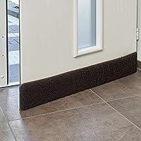 VITA PERFETTA Door Cold Air Draft Stopper/Keeps Heat In/Energy Saving (Black color)