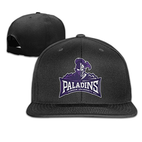 Ogbcom Furman University Snapback Adjustable Flat Baseball - Memorial City Oklahoma Day