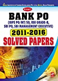 Kiran's Bank PO 2011-2016 Solved Papers - 1848 (Old Edition)