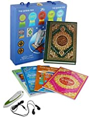 The Holy Quran Digital Reading Pen Word By Word Voice (M-9) With Colour Coded Uthmani Script