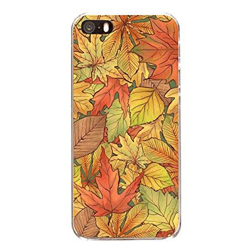 """Disagu SF-sdi-4558_1186#zub_cc6486 Design Schutzhülle für Apple iPhone SE - Motiv """"Herbstblätter_03"""""""