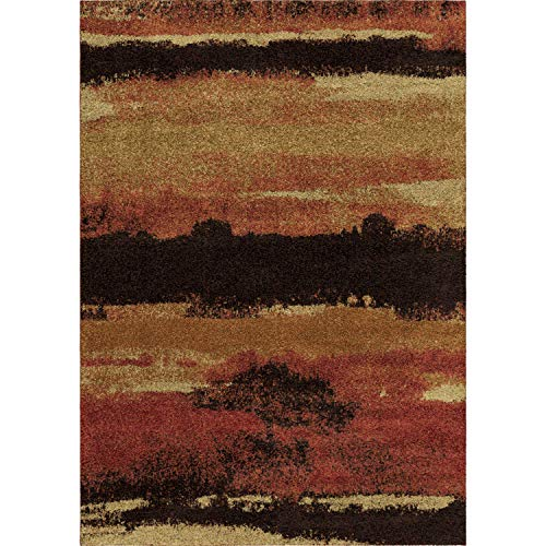 Amazon Com Orian Rugs Wild Weave Canyon Rouge Area Rug 5