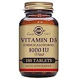 Solgar – Vitamin D3 (Cholecalciferol) 1,000 IU, 180 Tablets Review