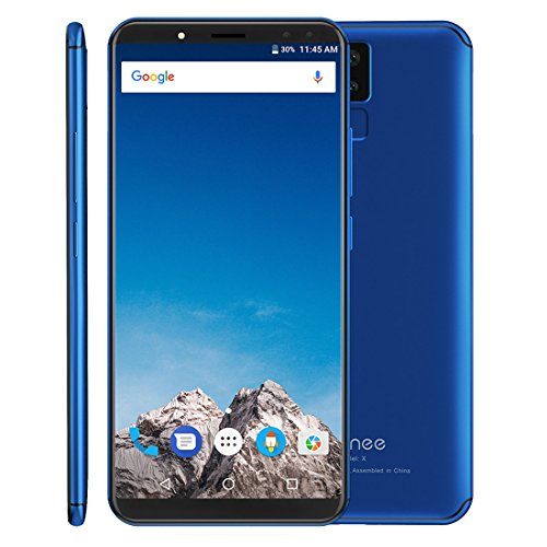 Vernee X 6GB+128GB 6200mAh Battery 6.0 inch Android 7.1 MTK6763 Octa Core up to 2.0GHz GSM & WCDMA & FDD-LTE (Blue)