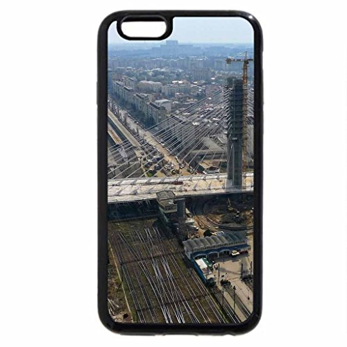 iPhone 6S / iPhone 6 Case (Black) Basarab bridge-Bucharest