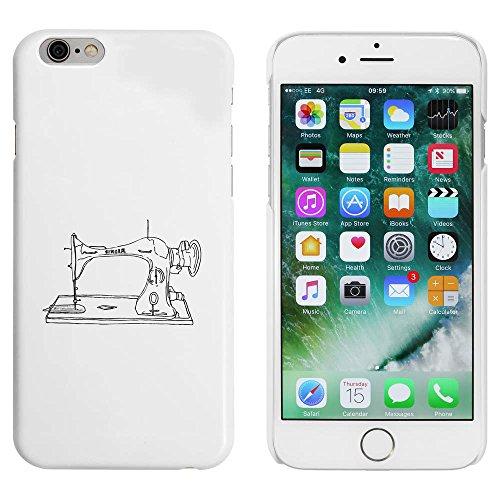 Blanc 'Machine à Coudre' étui / housse pour iPhone 6 & 6s (MC00034622)