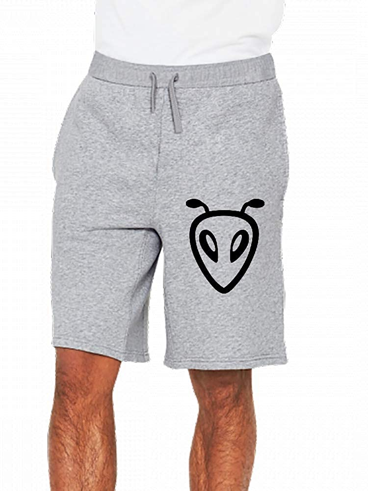 JiJingHeWang Alien Mens Casual Shorts Pants