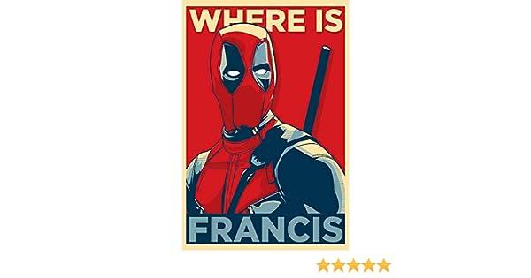 Deadpool and Harley Quinn Superheroes Movie Silk Poster Print 13x20 24x36 inch