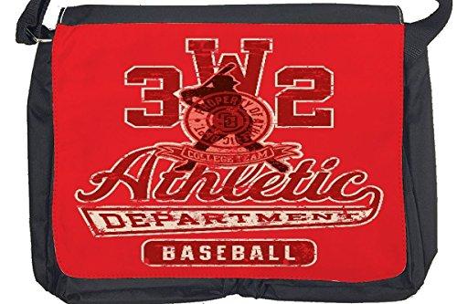 Borsa Tracolla Divertimento Baseball Stampato