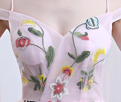 10 Parti Douce De Prom Goddess Soirée Sun Fin Rose Gamme 12 nbsp;Magnifique De De Longue Dentelle Robe Robes Fée Fleur Photographie Haut Rw7Tq
