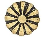 1000Pcs C.S. Osborne No. 683 - Daisy Ornamental Nail Quality Steel Nails with Natural Brass Finish 5/8'' Length Head: 7/16''