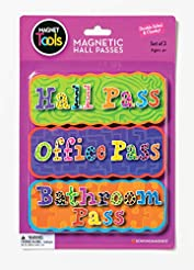 Dowling Magnets Magnetic Hall Pass Set