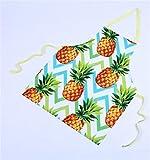 Goodscene Creative Apron Women Sleeveless Apron of Home Tropical Fruit Printing Apron (Orange)