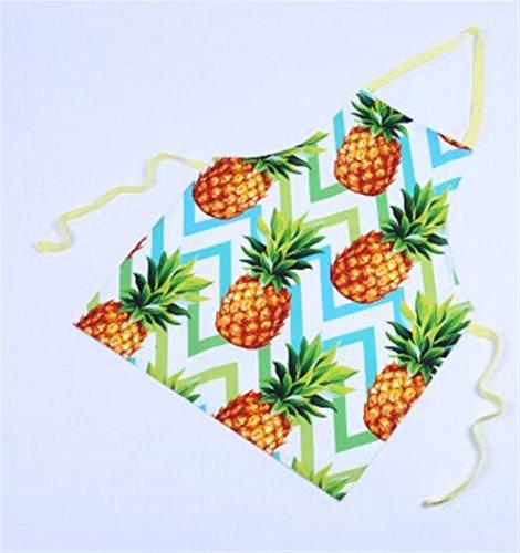 Goodscene Creative Apron Women Sleeveless Apron of Home Tropical Fruit Printing Apron (Orange) by Goodscene