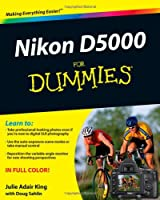 Nikon D5000 For Dummies Front Cover