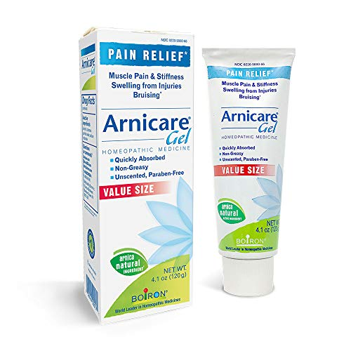 Boiron Arnicare Gel 4.1 Ounce Topical Pain Relief Gel (Best Medicine For Stiff Neck)