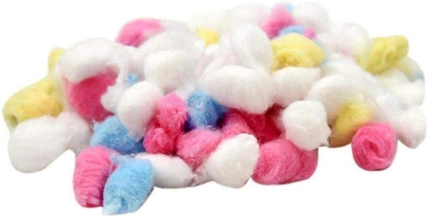 Angoter Colorido 100 PCS Pet Hamster Winter Bola de algodón ...