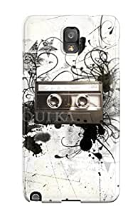 New Style Music Art Premium Tpu Cover Case For Galaxy Note 3